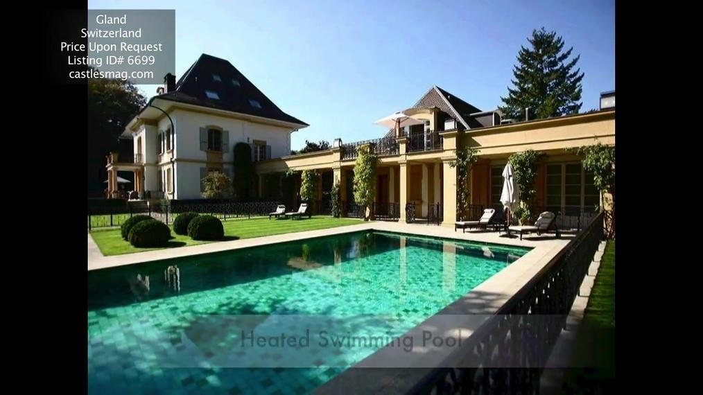 Mansion in Gland, Switzerland
