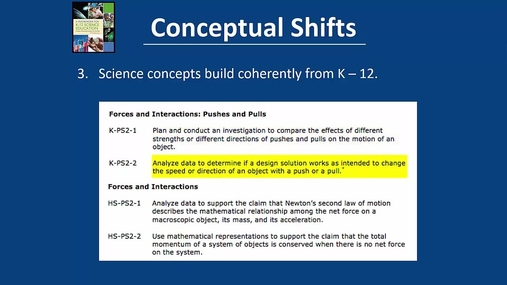 Conceptual Shifts in Science Teaching and Learning