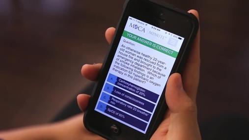 MOCA Minute Mobile App