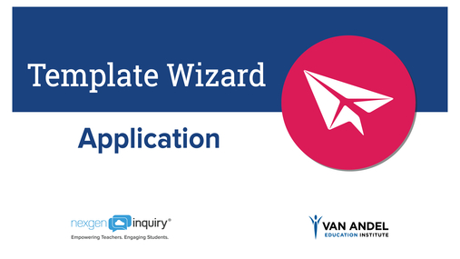 Template Wizard - Application