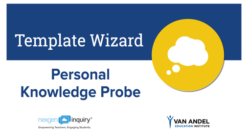 Template Wizard - Personal Knowledge Probe