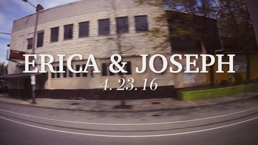 Erica and Joseph