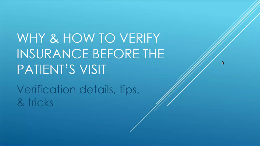 How-Why To Verify Insurance.mp4