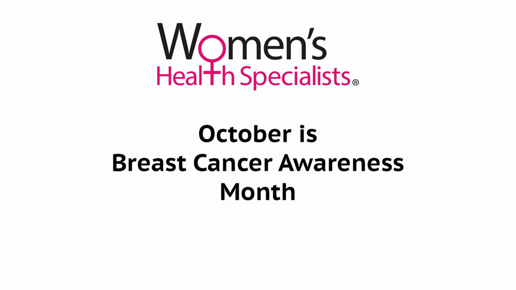 Women's Health Specialists Self-Breast Exam video