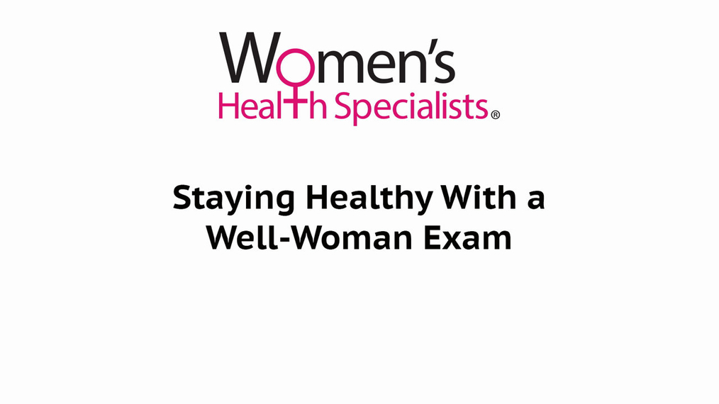 Well-Woman Exam