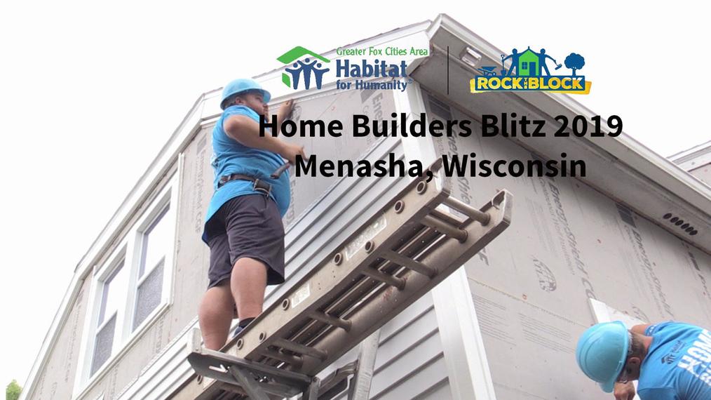 Rock the Block Home Builders Blitz 2019