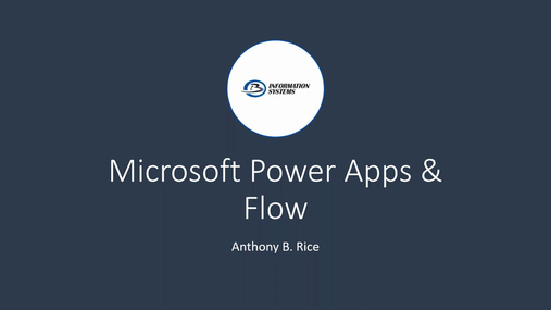 Microsoft PowerApps and Flow