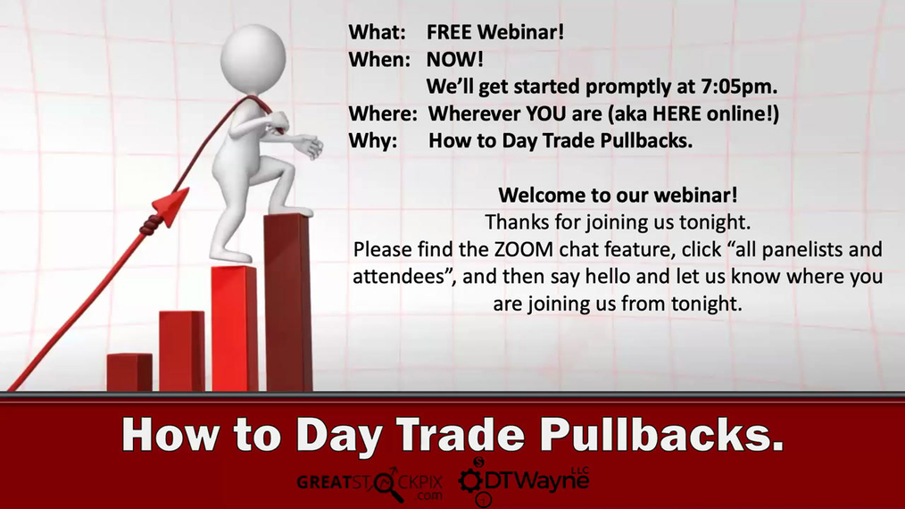 How to Day Trade Pullbacks.