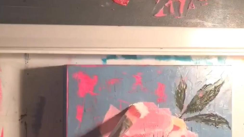 Redoing Artwork process video - Kara Aina