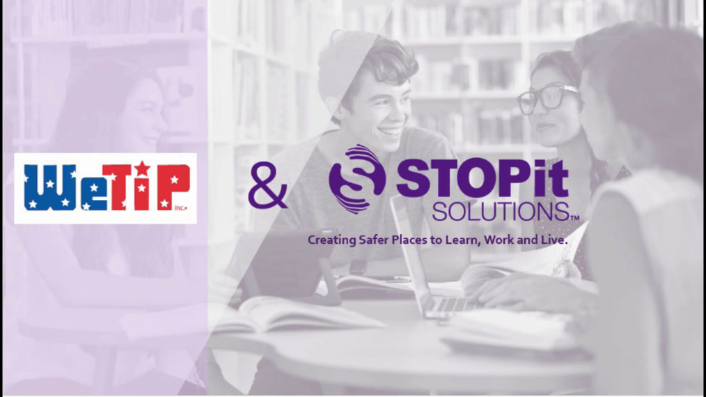 WeTip & STOPit Solutions