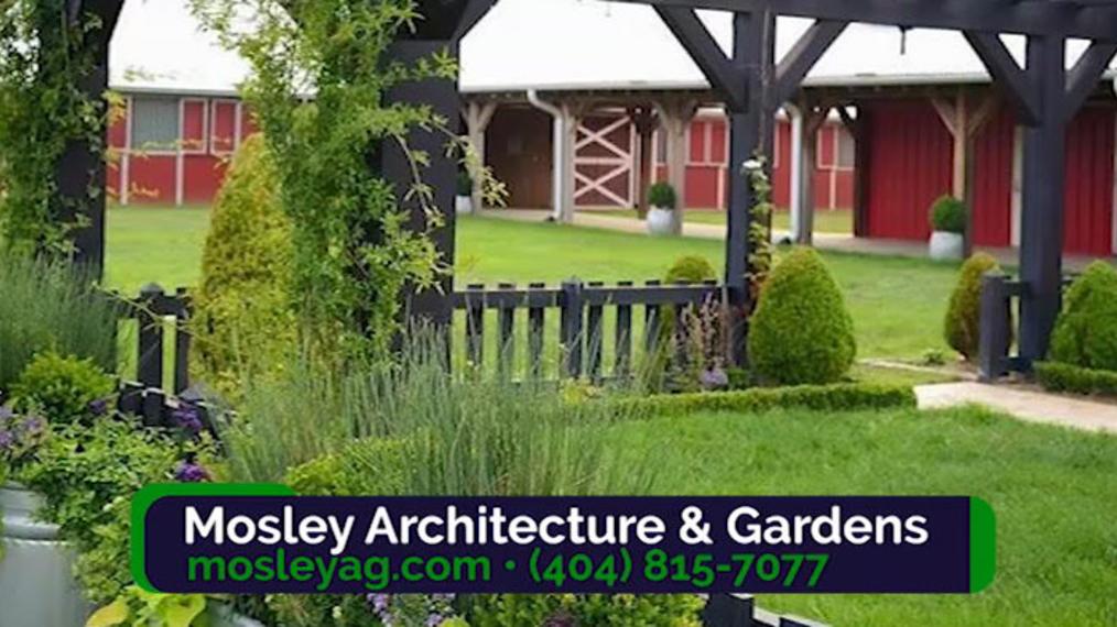 Architect in Atlanta GA, Mosley Architecture & Gardens