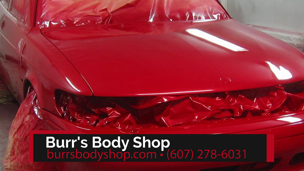 Collision Repairs in Oneonta NY, Burr's Body Shop