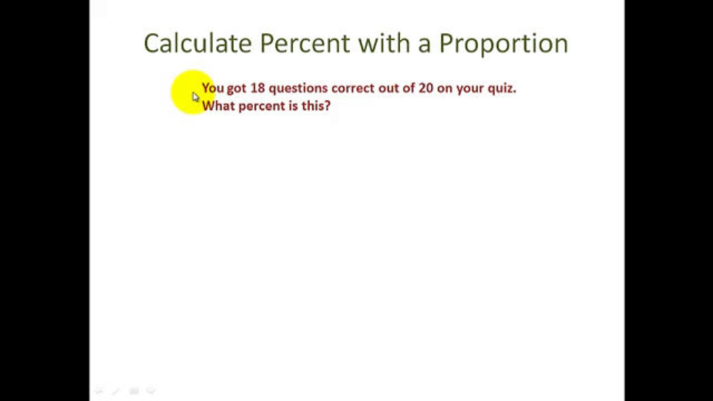 Calculate Percent with a Proportion.mp4