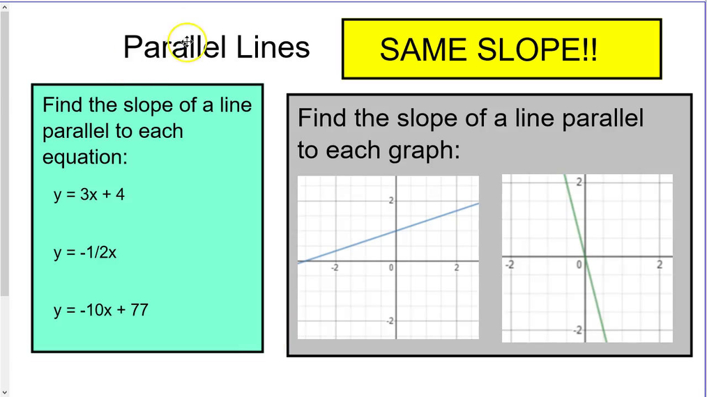 REMEMBER THIS Parallel and Perpendicular Slopes.mp4