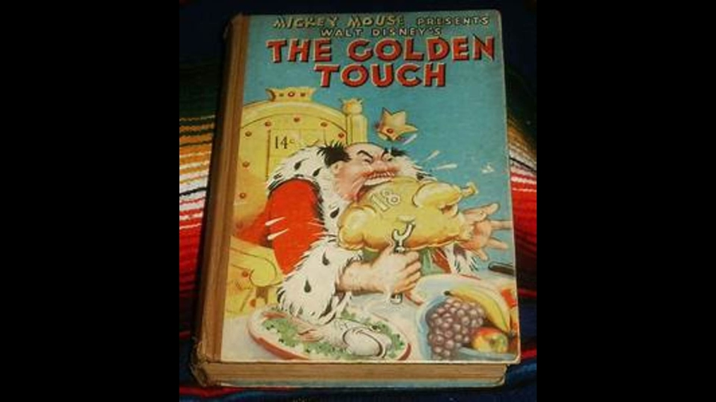 Mickey Mouse THE GOLDEN TOUCH