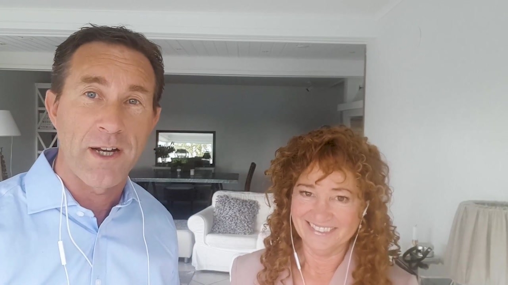 Video message from Kerstin and Thim Öhman