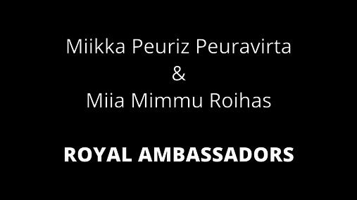 Royal Ambassador Recognition