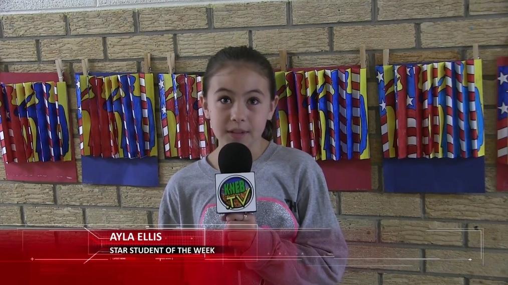 Ayla Ellis- Star Student of the Week