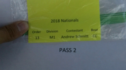Andrew Schmitt M1 Round 1 Pass 2