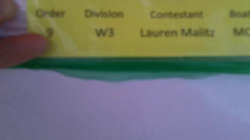 Lauren Malitz W3 Round 1 Pass 2