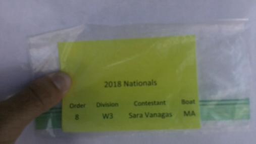 Sara Vanagas W3 Round 1 Pass 1