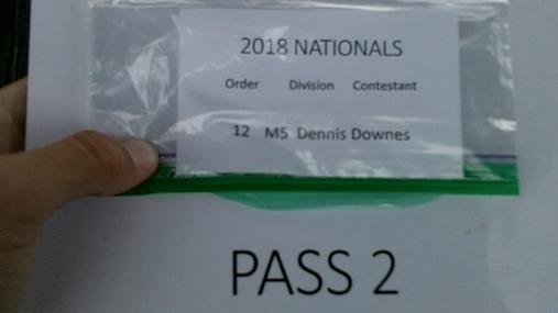 Dennis Downes M5 Round 1 Pass 2