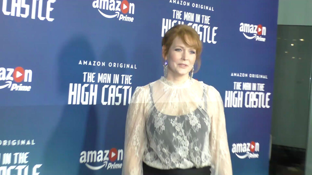 Chelah Horsdal at the Premiere Of Amazon's Man In The High Castle Season 2 at the Pacific Design Center in West Hollywood.mp4
