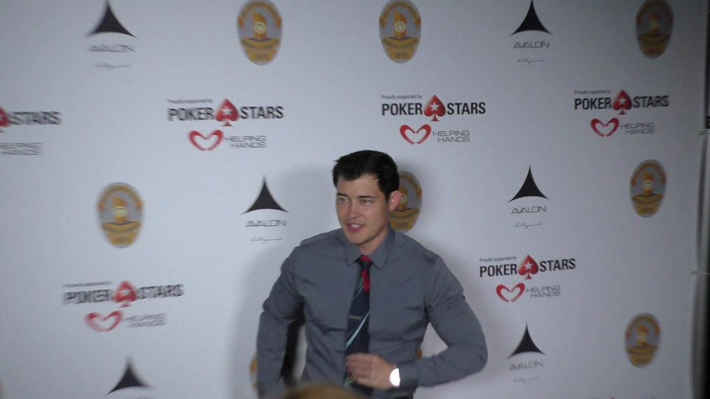Christopher Sean at the Los Angeles Police Memorial Foundation Celebrity Poker Tournament at Avalon Nightclub in Hollywood.mp4