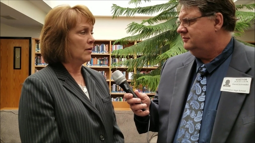 Judge Frankie Moore interviews with Dave Schroeder