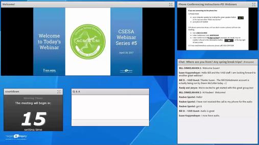 CSESA Webinar Series-April 20, 2017