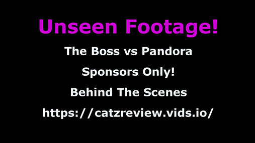 Behind-the-scenes - The Boss vs pandora