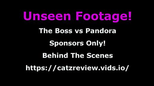 Behind-the-scenes - The Boss vs pandora