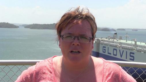 NCGA Wesley Spurlock at Panama Canal