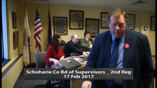 Schoharie Co Bd of Supervisors_2nd Reg_17 Feb 2017