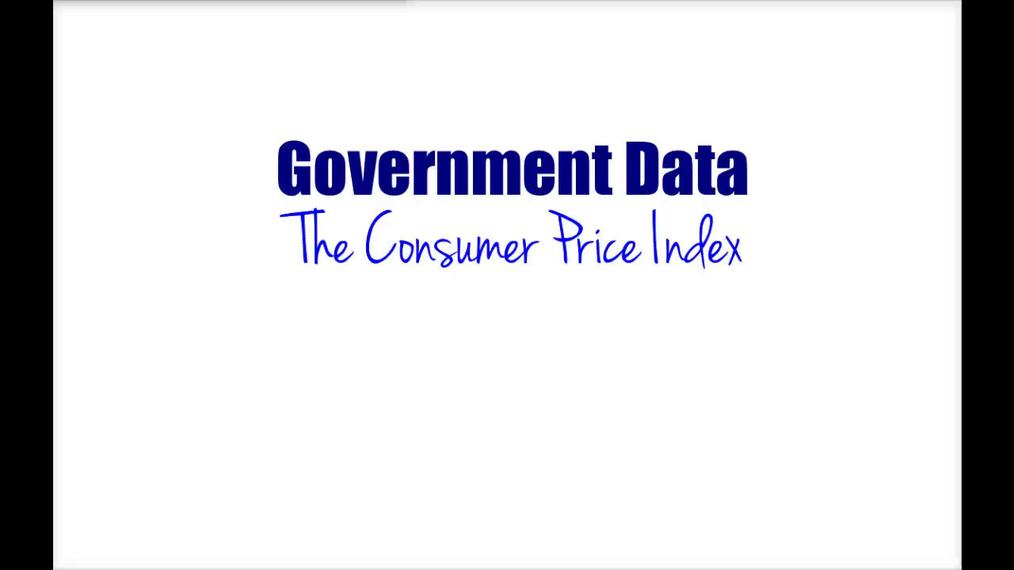 Intro Stats - Government Data CPI
