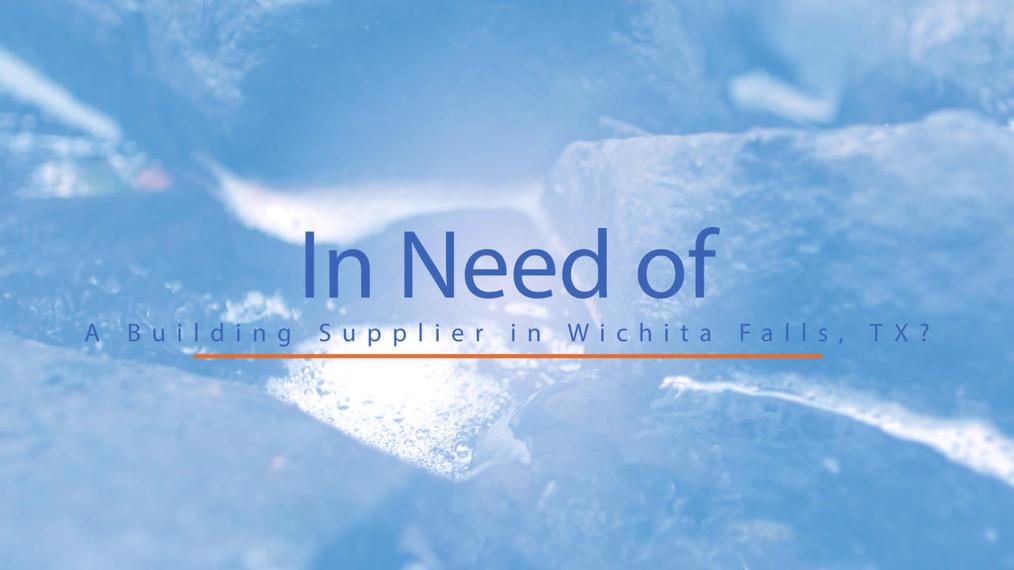 Building Supplier in Wichita Falls TX, Pitts Sand & Gravel Stone Yard