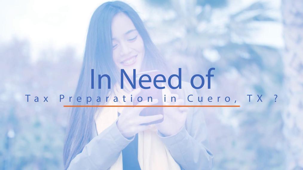 Tax Preparation in Cuero TX, Liberty Financial Services