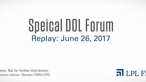 Special DOL Forum Replay: June 26, 2017