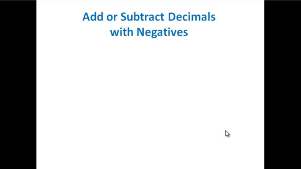 Add Decimals with Negatives.mp4
