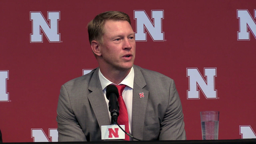 "Frost - ""That's what Nebraska is all about"""