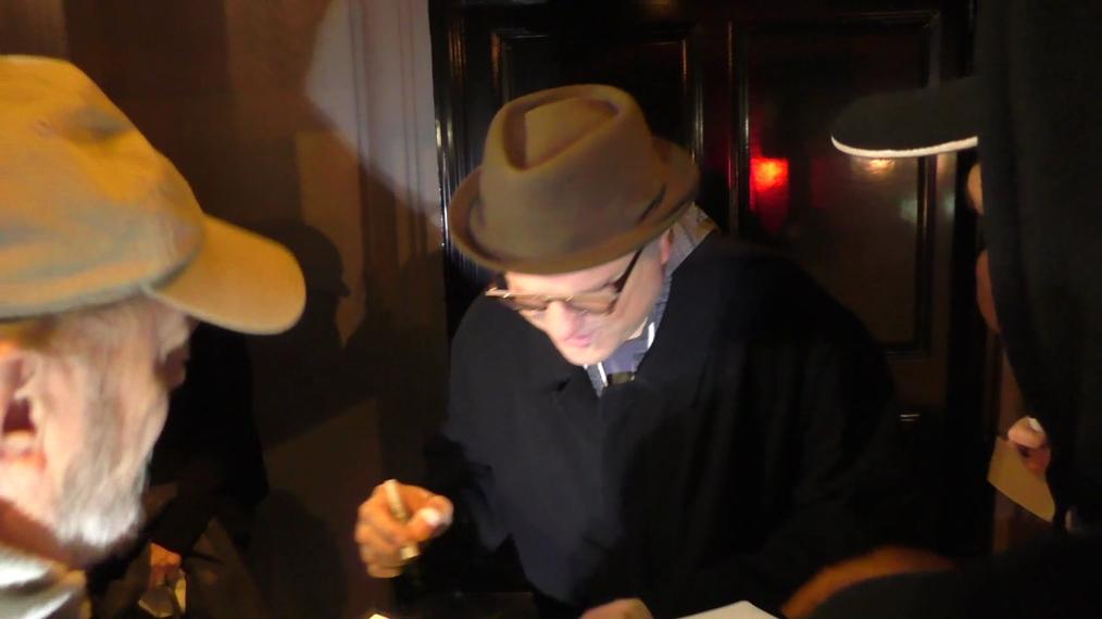 Enrico Colantoni outside Craig's Restaurant in West Hollywood.mp4