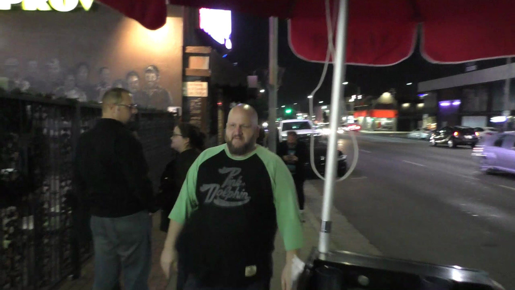 Stephen Kramer Glickman at The Night Time Show Holiday Special Benefiting Children's Hospital at Improv Comedy Club in West Hollywood.mp4
