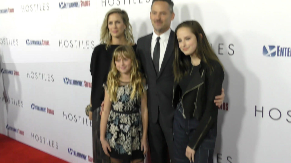 Scott Cooper at the Hostiles Premiere at Samuel Goldwyn Theater in Beverly Hills.mp4