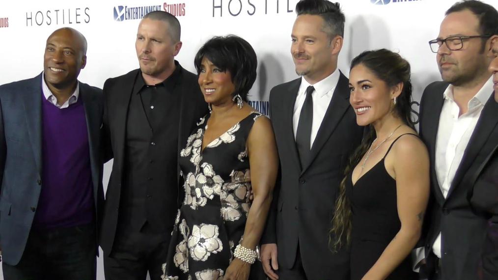 Hostiles Cast at the Hostiles Premiere at Samuel Goldwyn Theater in Beverly Hills.mp4
