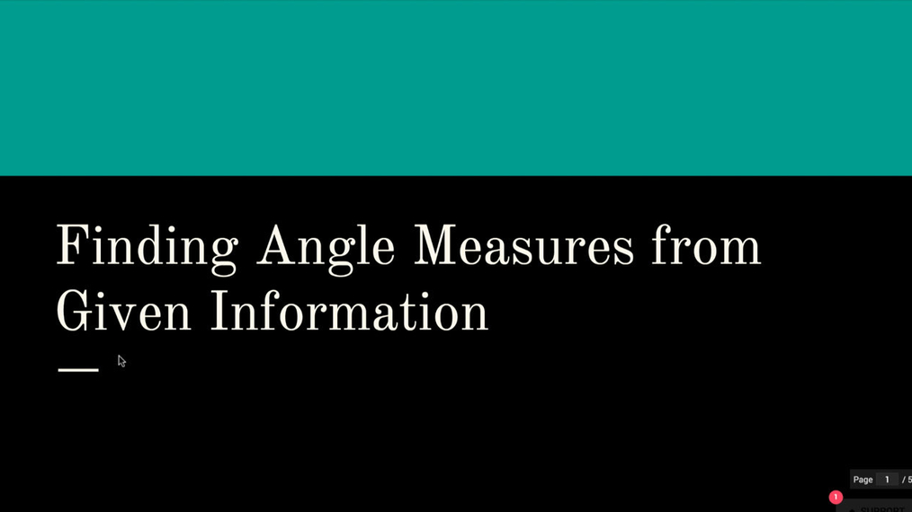 Finding Angle Measures.mp4