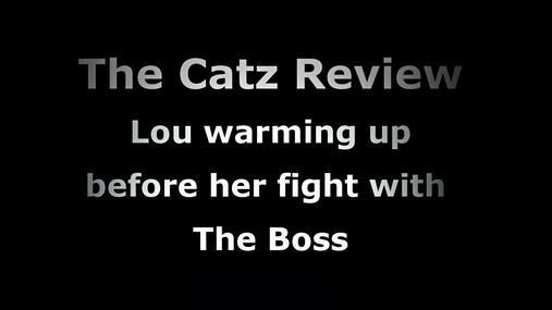 Lou vs The Boss warm up 4k