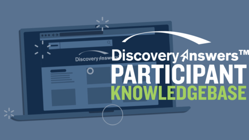 Discovery Answers Participant Knowledgebase