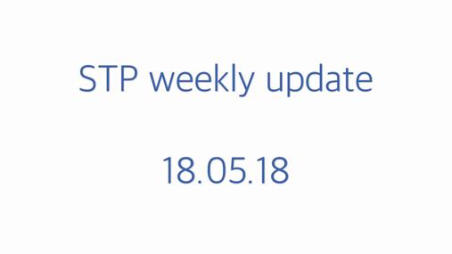 STP weekly update - 18.0518