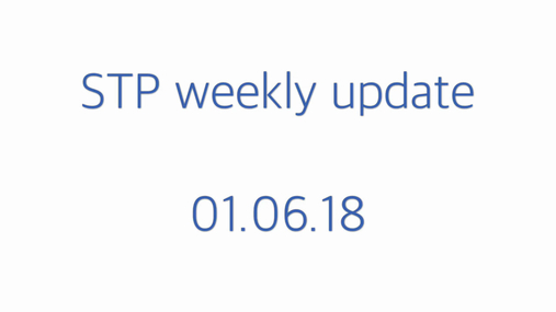 STP weekly update 01.06.18