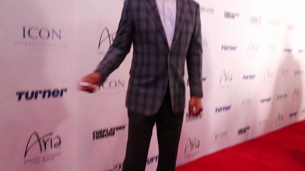 Marcus Allen attends the 2018 Derek Jeter Celebrity Invitational Gala at the Aria Resort & Casino in Las Vegas.mp4